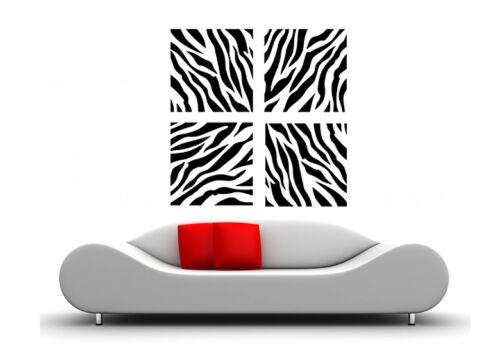 Mural Afrique Animal murale zebra waf19