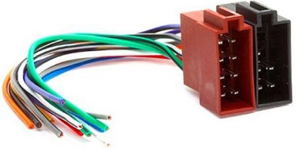 RENAULT ESPACE KANGOO ISO Stereo Headunit Harness Adaptor Wiring ...