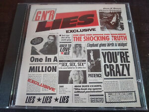 GUNS N ROSES - G N' R Lies CD Hard Rock / Glam / Heavy Metal