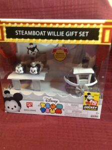 Steamboat Willie Set Supply Brand New In Box 90th Anniversary Choice Materials Tsum Tsum Mickey