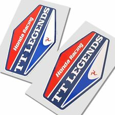 John McGuinness TT Legends Honda stickers  motorcycle   graphics x 2 SMALL