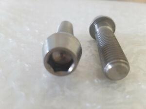 Titan Schraube DIN912-2 Stück M10x1,5 x 30mm konisch neu Grade 5