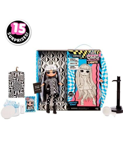 LOL Surprise OMG LIGHTS Groovy Babe Fashion Doll With 15 Surprises IN HAND