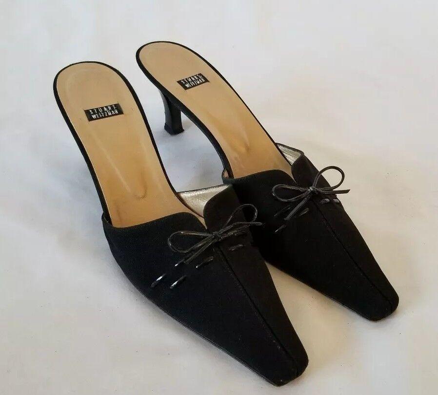 Women's Stuart Weitzman Corset Kitten Heels Pointed shoes Pumps Sandals sz 9 AA