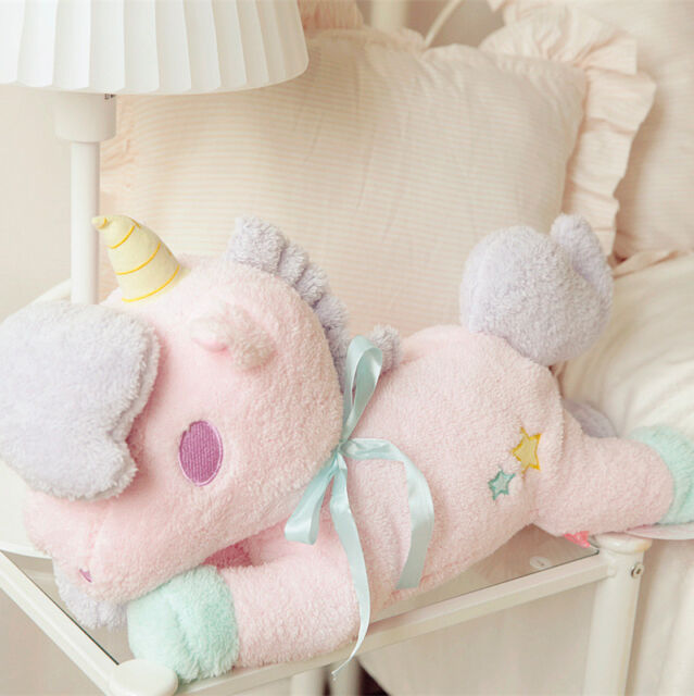 Little Twin Stars blue fuzzy plush tissue box holder cover hanging wall decorate