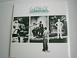 GENESIS-The-Lamb-Lies-Down-On-Broadway-double-LP-new-mint-sealed
