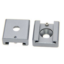 """2Pack CAMVATE Cold Shoe Mount Adapter Bracket Hotshoe with 1/4"""" Mounting Hole"""
