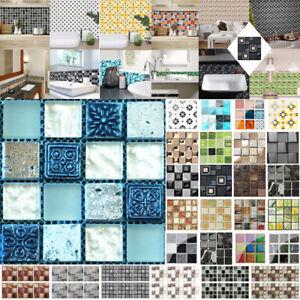 6//10//19//20x floor tiles wall panels Brick Waterproof Wall Sticker Decor