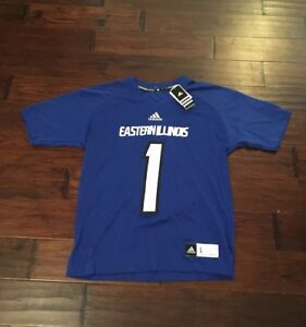 reputable site 15b38 ab15d Adidas Men's Eastern Illinois Panthers Football Jersey Sz ...
