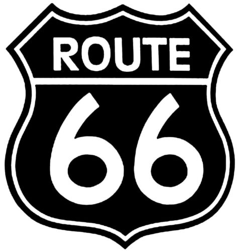 5x5 cm à 30x30 cm Sticker Autocollant Décoration Logo Mythique Route 66