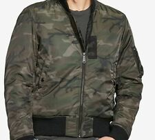 NEW Denim & Supply Ralph Lauren Men's Slim Camo Down Bomber Jacket Sz XXL $198