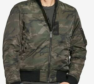 c5cc2fee277d2 NEW Denim & Supply Ralph Lauren Men's Slim Camo Down Bomber Jacket ...