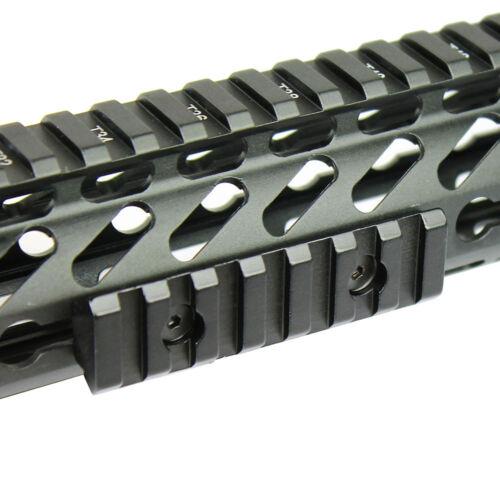 "2/"" 3/"" 5/"" Keymod Handguard 5 7 13 Slot Picatinny Weaver Rail Section Aluminum $$$"