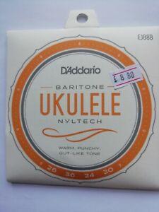 D-039-ADDARIO-Nyltech-Baryton-Ukulele-Cordes-EJ88B