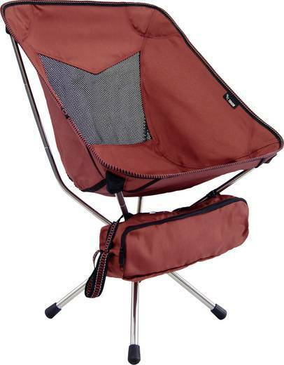 Talon Swivel Pivot Chair Short rot Klappstuhl Stuhl Camping Faltstuhl Zelten