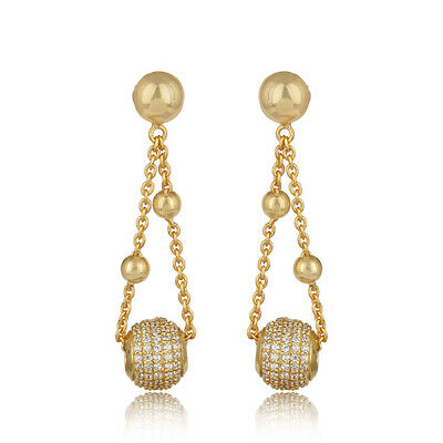 Subharpit Ethnic Light Yellow Beads Oxidized Silver Traditional Indian Dangle Earring for Woman /& Girls