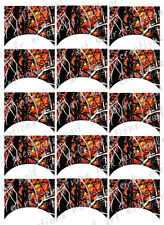 15 FRENCH NAIL TIPS *WILDFIRE CAMO * Hardwoods Camo WATERSLIDE NAIL DECALS