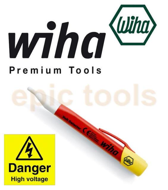 Wiha senza Contatto 1000v Ac Tensione Cavo Rilevatore Fusible Tester, 37871