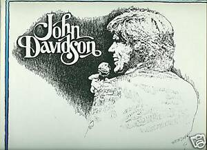 John Davidson LP Every Time I Sing A Love Song nr MINT