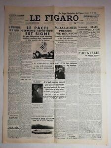 N1166-La-Une-Du-Journal-Le-Figaro-24-Aout-1939-pacte-Germano-sovietique