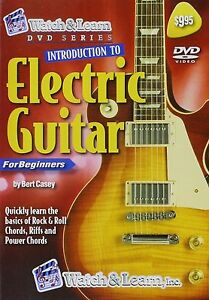 watch learn introduction to electric guitar for beginners dvd new sealed ebay. Black Bedroom Furniture Sets. Home Design Ideas