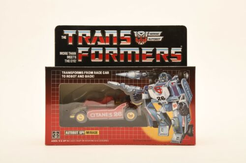 Transformers G1 Mirage figure REISSUE BRAND IN BOX NEW Kids Toy Gift Hot