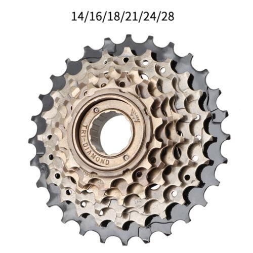 Bike 6//7//8 Speed Freewheel Mountain Bicycle Replacement Steel Freewheel Sprocket
