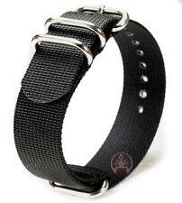 PRAETORIAN® DiverTec Extrem Black Zulu / Nato Strap 20mm - Nato ZULU Armband