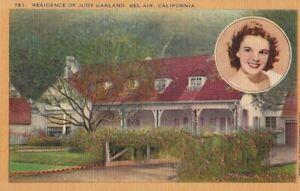 JUDY-GARLAND-HOME-OF-JUDY-GARLAND-BELAIR-CALIFORNIA-POSTCARD