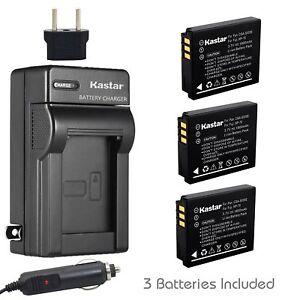 CGA-S005-Battery-amp-Regular-Charger-for-Panasonic-Lumix-DMC-FX3-FX07-FX8-FX9-FX10