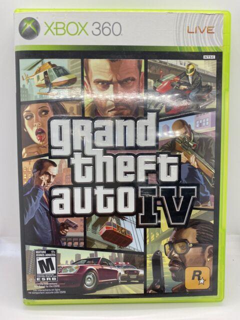 Grand Theft Auto GTA IV 4 Xbox 360 No Manual