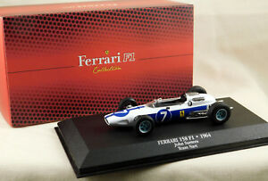 Ferrari-158-F1-John-Surtees-1964-Atlas-Editions-JH08-1-43-Scale-New-in-Box