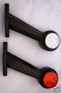 2x-RIMORCHIO-LATO-Lampada-indicatore-freccia-CAMION-PER-VOLVO-MAN-SCANIA-DAF