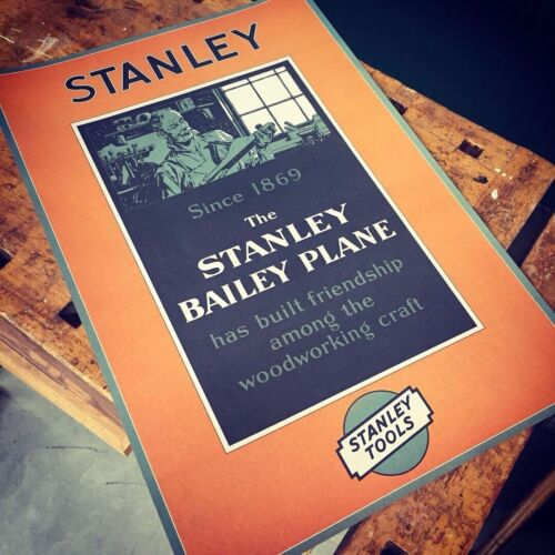 Stanley Bailey 1920s Advertising Poster Art Print Limited Edition FREE SHIP