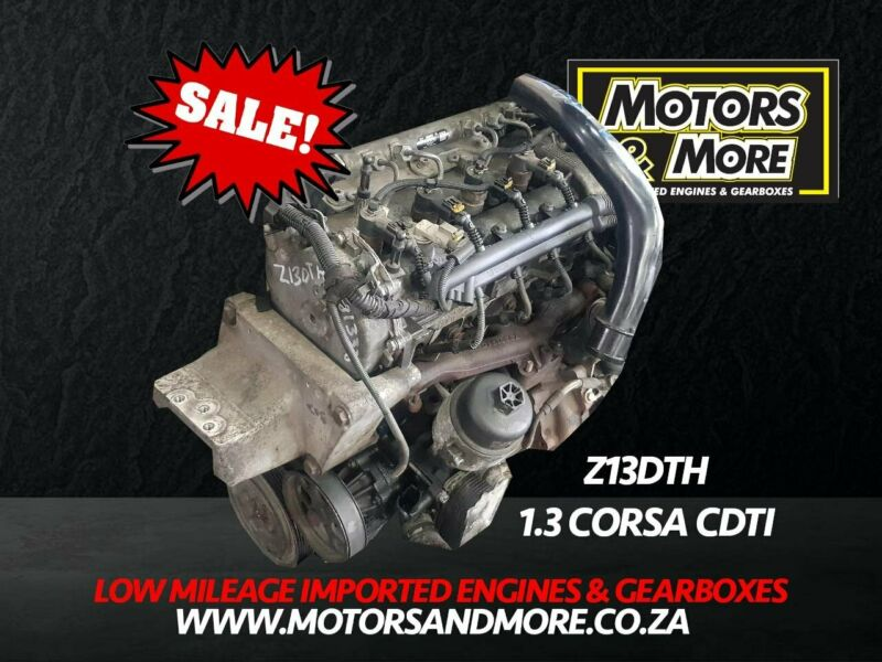 Opel Corsa 1.3 CDTi Z13DTH Engine now available at Motors & More Gqberha - PE