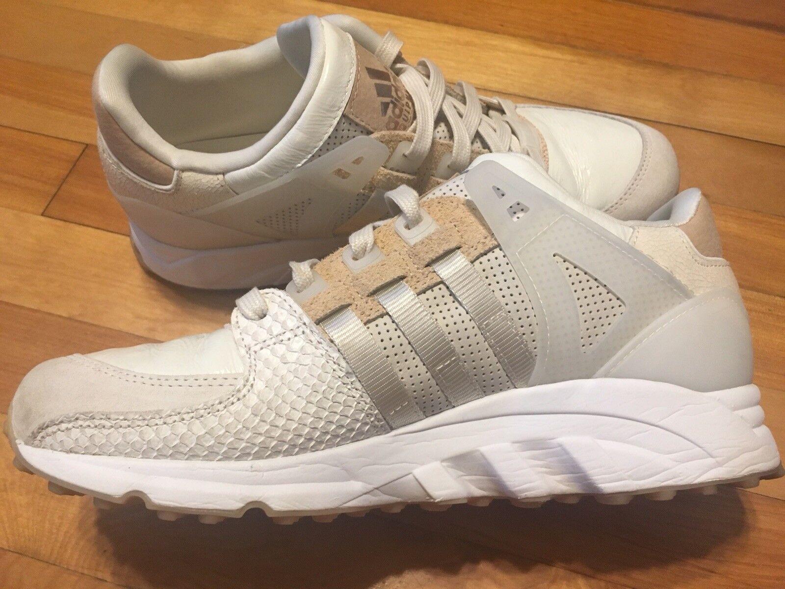 Adidas Originals EQT 'Oddity Luxe' Premium Off White 9.5 Rare