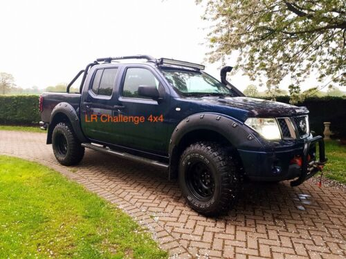 NEUF Superbe Large Arches Fender Flares pour s/'adapter NISSAN NAVARA 06-10 d40