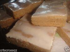 Homemade GLAZED SHORTBREAD BAR Cookies* sugar/sugar-free * Caramel PEANUT BUTTER
