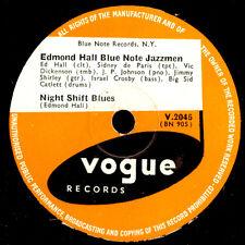 EDMOND HALL BLUE NOTE JAZZMEN Night Shift Blues / Royal Garden Blues 78rpm X3358