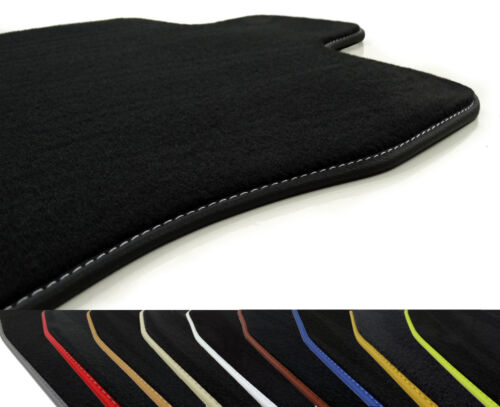 Velluto tappetini Infiniti FX II a partire da BJ 2008 Pelle bordatura Profi Mats