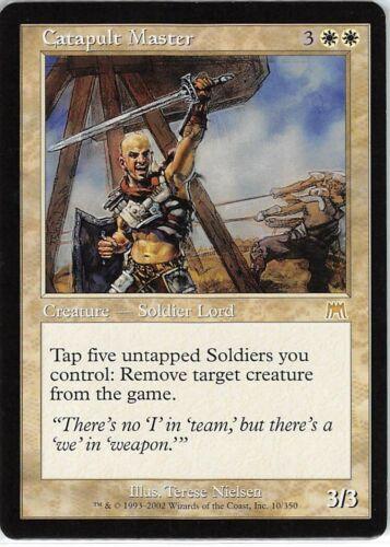 Catapult Master *Rare* Magic MtG x1 Onslaught SP