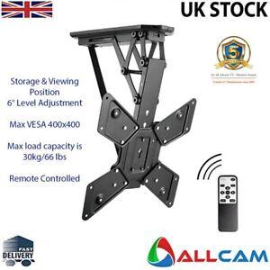 Allcam-electrique-motorise-TV-Support-de-montage-au-plafond-avec-rangement-et-position-de