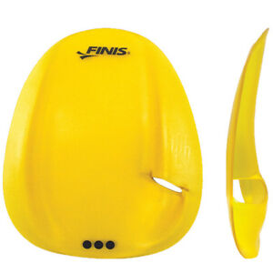 FINIS Strapless Agility Hand Paddles - Yellow