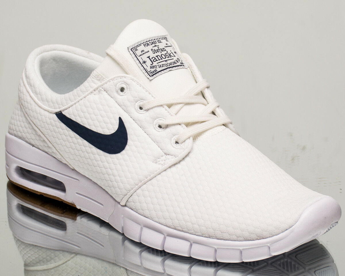 Nike SB Stefan Janoski Max air men lifestyle kicks NEW summit white 631303-103