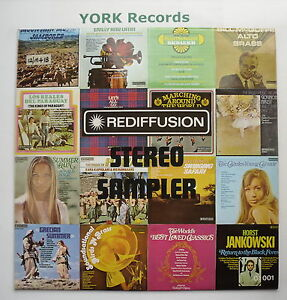 STEREO-SAMPLER-Various-Excellent-Condition-LP-Record-Rediffusion-ZS-01-001