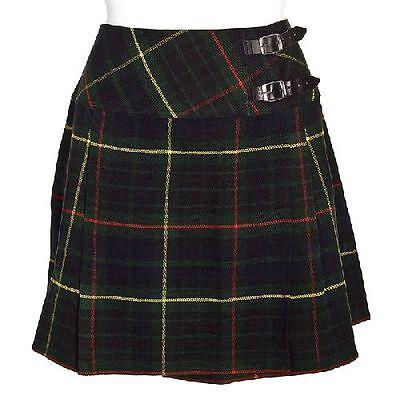 Ernst New Ladies Hunting Stewart Tartan Scottish Mini Billie Kilt Mod Skirt Sizes 8-16