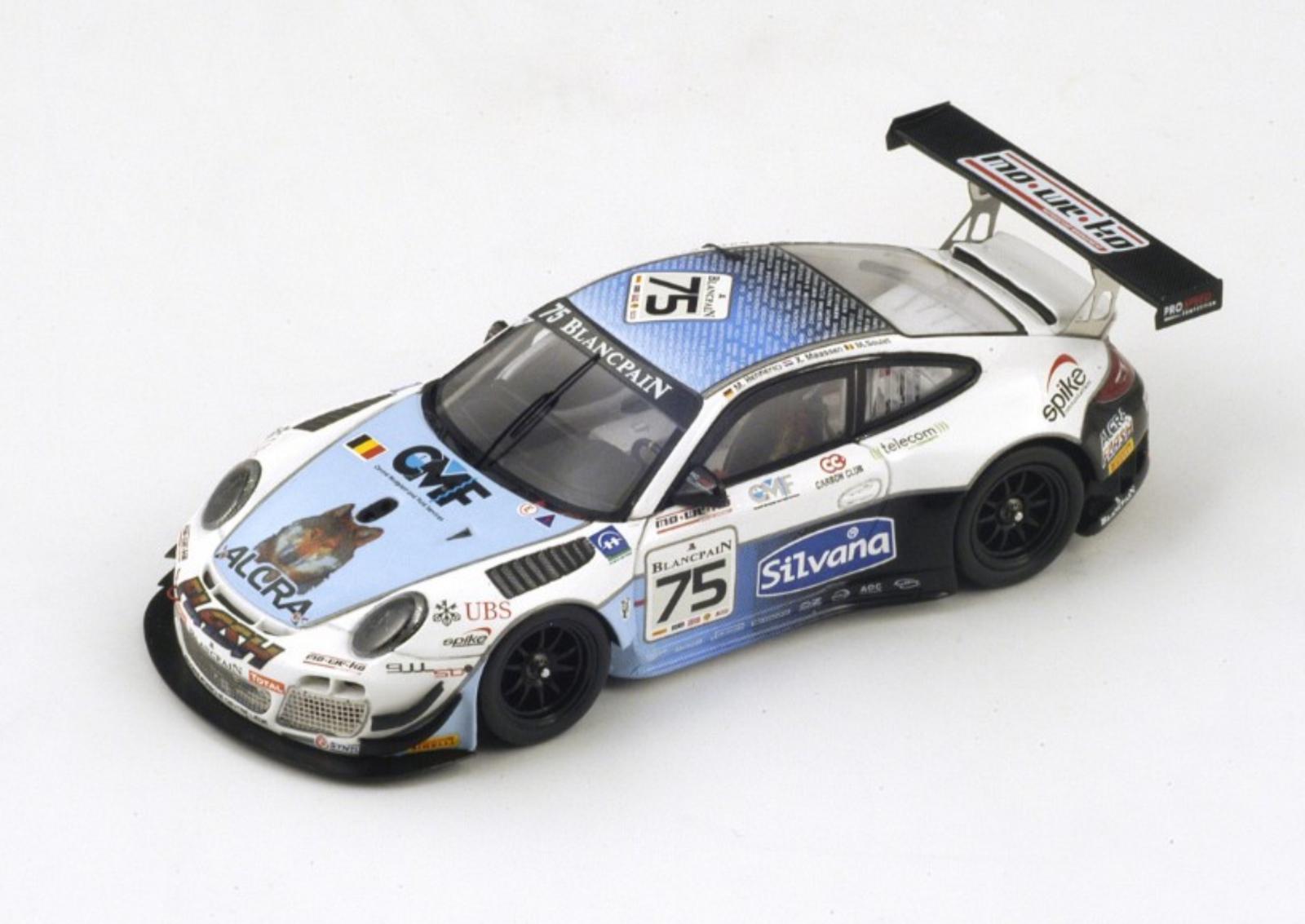 1 43 Porsche 911 n°75 Spa 2013 1 43 • SPARK SB042