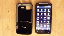 HTC cell phone Sensation 4G 768 MB memory w hard case T-mobile