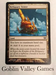 Japanese MTG NM//NM Reliquary Tower Conflux O.G