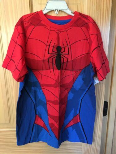 NWT Disney Store Parks Spiderman T Shirt Tee Boy Avengers costume S,M,L